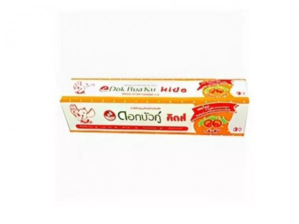 Детская травяная зубная паста для чувствительной эмали Dok Bua Ku (35.00 г)