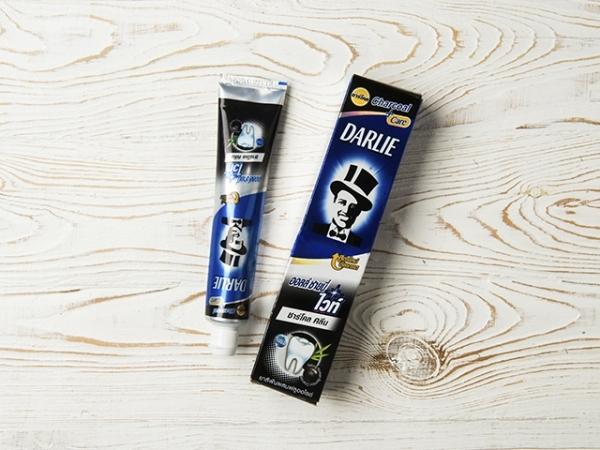 Отбеливающая зубная паста Darlie с бамбуковым углем Darlie All Shiny Charcoal Clean White 140. г