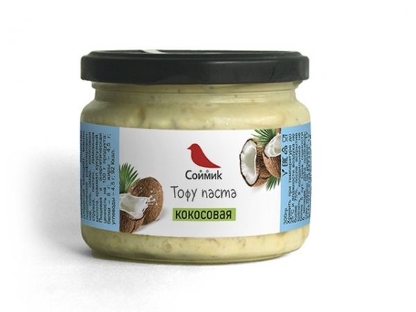 """Тофу паста кокосовая """"Соймик"""" сладкая"""