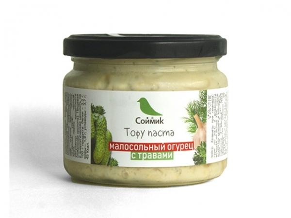 """Тофу паста малосольный огурец с травами """"Соймик"""""""