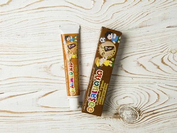Детская гелиевая зубная паста со вкусом Кока-Колы Oralmed Kid  (40.00 г)