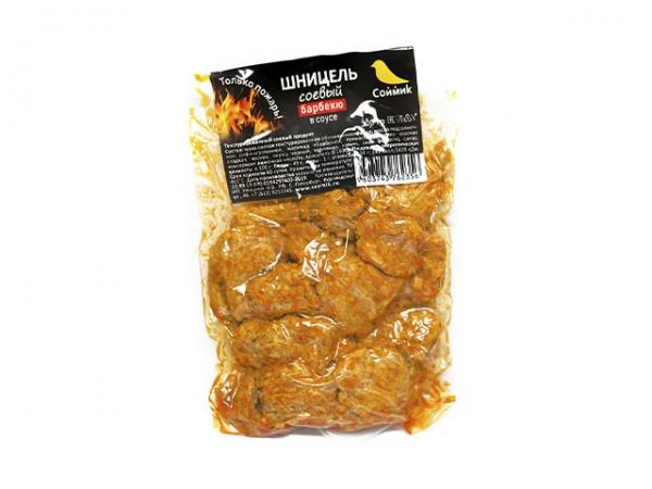 Шницель соевый в соусе барбекю 300 г