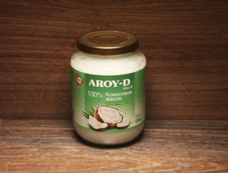 """Масло кокосовое нерафинированное """"Aroy-D"""""""