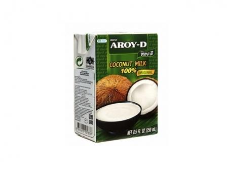 """Кокосовое молоко """"Aroy-D"""" 0,250 л"""