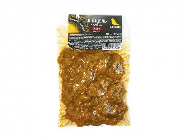 Шницель соевый в соусе карри 300 г